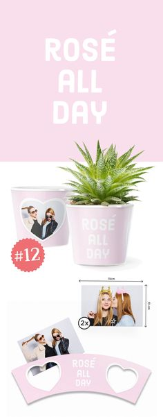 12. Rose all day Wann ist die beste Zeit, Deiner Mutter etwas zu schenken? Und was danach? 💖🎂  Überrasche Deine Mama, wenn sie morgens aufsteht. 🌞🌈 Mit einem schönen Frühstück, den Enkelkindern, Aufmerksamkeit einem Glas Sekt und diesem rosa Blumentopf. Denn ab da heißt es: Rose all day! 🥂  Rosa Cupcakes, rosa Drinks, rosa Hütchen oder Dekoration. Lasse deine Ideen wachsen! Rosen oder pinke Tulpen werden an diesem Tag für eine feierliche Atmosphäre sorgen. Muttertag 2017 wird ein Tag…