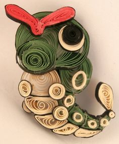 quilled pokemon   Impressive Paper Pokémon For People To Peer At and Ponder…