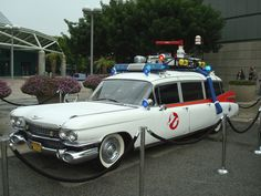 """Who ya gonna call?"" 1959 Cadillac Miller-Meteor in Ghostbusters"