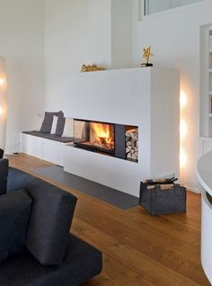 Ruegg 720 giant house – home decorasyon – Fireplace Ideas 2020 Loft Living, Home, Home Fireplace, Fireplace Design, House Interior, Fireplace Decor, Interior Design, Fireplace, Home And Living