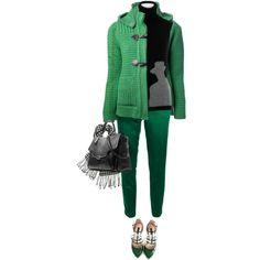 """Green Love!"" by yasminasdream on Polyvore"