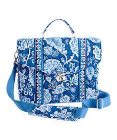 Another great find on #zulily! Blue Lagoon Attache Messenger Bag by Vera Bradley #zulilyfinds