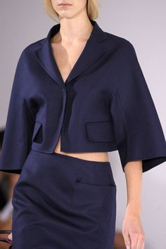 Jil Sander Spring 2013 Ready-to-Wear Detail  - ELLE.com