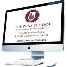 """Ya conoces """"The Wine School""""  El Mejor Curso de Vinos Online"""
