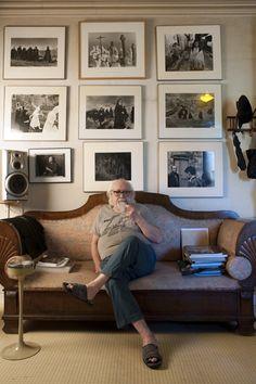 Revista Ojos Rojos. Hablamos con Rafael Sanz Lobato (Sevilla, 1932) Premio Nacional de Fotografía 2011. Fotografía de Mike Steel.