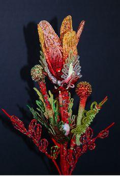 Beaded Flower-Mario Rivoli