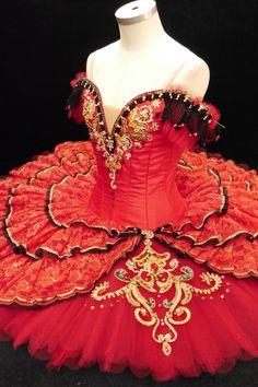 Don Quixote Act lll. Kitri's Wedding Tutu. Yuki.F '14/12