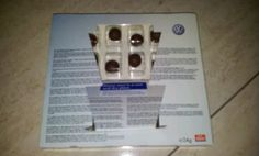 Chocolate for each day from Volkswagen!!