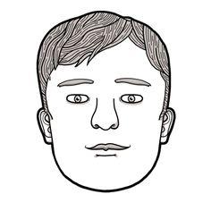 Un dibujo para un anuncio de Braun en el que podías dibujarle la barba que quisieras al personaje.