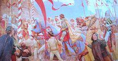 Paja Jovanović-Ženidba Cara Dušana - Paja Jovanović - Wikipedia, the free encyclopedia. The Wedding of Czar Dushan of Serbia