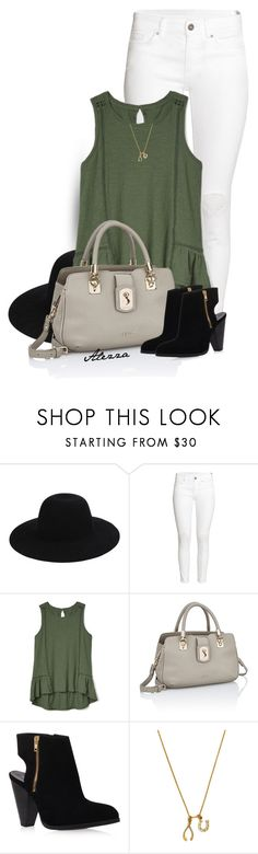"""Oliva!"" by ale-zz ❤ liked on Polyvore featuring Off-White, H&M, Gap, Carvela Kurt Geiger and Chrysalis"