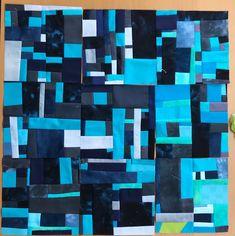 quilts und mehr: So wird mein Quilt sicher nicht aussehen, aber die... Quilt Art, Inchies, Texture, Prints, Blog, Scrappy Quilts, December 12, Textile Art, Surface Finish