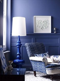 Something Blue Monochromatic RoomBlue