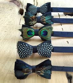 Fancy fathers like feather bow ties !