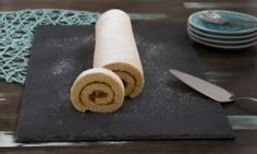 Swiss roll   Biskuitroulade Simply Filling, Types Of Cakes, Alps, Baking, Biscuit, Chef Recipes, Bakken, Backen, Sweets