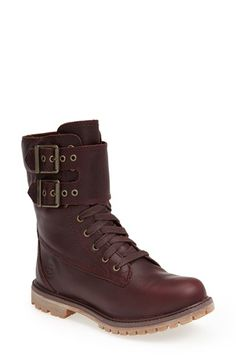 Timberland Earthkeepers® Waterproof Double Strap Boot (Women) available at #Nordstrom
