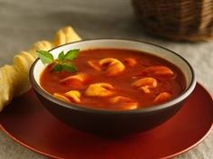 Tomato Tortellini Soup Recipe from Betty Crocker