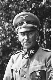 """Paul""""Papa"""" Hausser,SS-Oberstgruppenführer"""