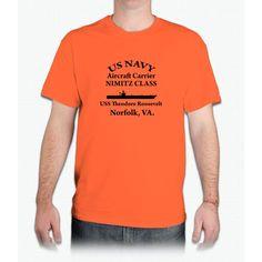 Uss Theodore Roosevelt Shirt - Mens T-Shirt