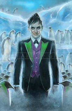 The Penguin Gotham TV Show by TheArtofGARD on Etsy