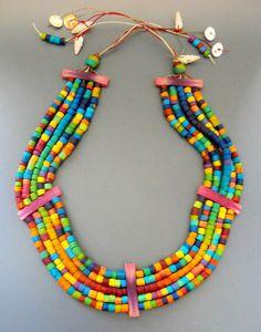 Massai Collar by MargitB., via Flickr