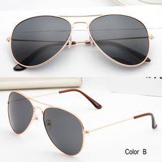 IVE Classic Sunglasses Women Men Driving Mirror Eyewear Pilot Sun Glasses Women Men Brand Designer Shades Unisex 3027 Oh Yeah #shop #beauty #Woman's fashion #Products #Classes