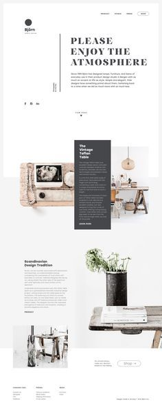 Web of Life. Collection of Creative Web Design Concepts.