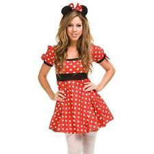 MINNIE MOUSE Mickey DISNEY Adult Fancy Dress Costume