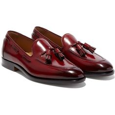 Men,s New Classic Brown Leather Shoes with Tassels Style, Men luxury shoe, - Casual