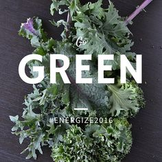 Ready to feel amazing? This week's #energize2016 challenge: eat at least 1 cup of dark green veg everyday. Try smoothies, salads or stuff into wraps.