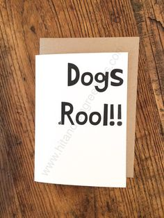 Card #462:  Dogs ...