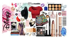 """""""Jet Set Style With DJ Mia Moretti & The RealReal: Contest Entry"""" by nerdychic101 on Polyvore featuring ferm LIVING, Dolce&Gabbana, Kate Spade, Banana Republic, Monsoon, NYX, Stila, Chanel, Essie and Manic Panic"""