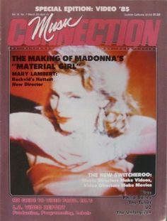 Madonna - Music Connection Magazine [United States] (March 1985)