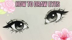Strategies that will help Try to improve Your own comprehension of pencil draw Girl Eyes Drawing, Cartoon Eyes Drawing, Amazing Drawings, Cool Art Drawings, Art Drawings Sketches, Art Illustrations, Art Reference Poses, Drawing Reference, Drawing Step