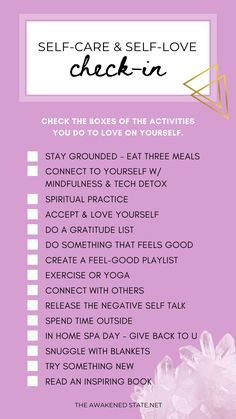 It's easy to put ourselves last. Thats why I created this self loving ritual checklist to help YOU give back to yourself. When we put ourselves first for the highest good, everyone benefits. Feel free to share this with friends or on your insta stories tag me at @awakenedstate777