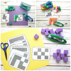 These printable shadow block puzzles are a simple yet engaging way teach your toddler or preschooler about shapes in a fun way! Preschool Puzzles, Fun Math Activities, Preschool Centers, Free Preschool, Montessori Activities, Preschool Worksheets, Kindergarten Math, Toddler Preschool, Toddler Puzzles