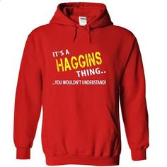 Its a HAGGINS Thing - #long shirt #tshirt ideas. CHECK PRICE => https://www.sunfrog.com/Christmas/Its-a-HAGGINS-Thing-Red-Hoodie.html?68278