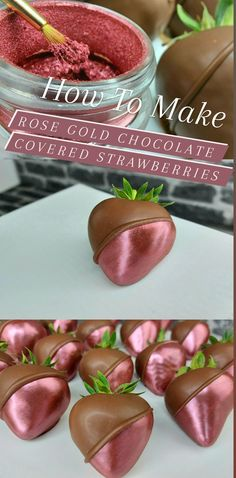 How To Chocolate Covered Strawberries, Chocolate Covered Treats, Strawberry Ideas, Strawberry Decorations, Chocolate Bouquet, Bakery Cafe, Confectionery, Chocolates, Sweet Recipes