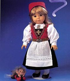 Norwegain doll clothing