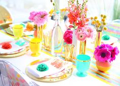 @Joy Cho / Oh Joy! for Target party collection makes for a gorgeous garden party