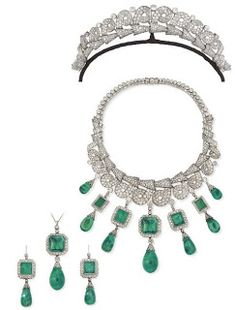 Marie Poutine's Jewels & Royals: Grand Emeralds and Diamonds
