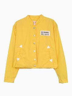 Yellow Waterproof Jacket