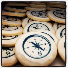 Compass cookies Pocahontas birthday