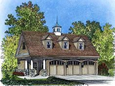 Carriage House Garage plan, like this but smaller
