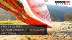 #Running: Mit den 5 Tipps gelingt Dein Trainingseinstieg in den Frühling! Lauftraining für Laufeinsteiger. Trainingstipps für Laufanfänger.