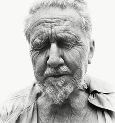 Ezra Pound, poet, Rutherford, New Jersey, at the home of William Carlos Williams, June 30, 1958