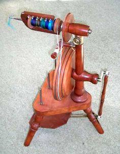 My Peacock Spinning wheel.