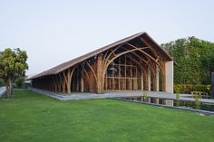 Sala de Conferencias Naman Retreat,© Hiroyuki Oki