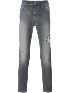 Comprar McQ Alexander McQueen jeans de corte slim desgastados en Twist'n'Scout from the world's best independent boutiques at farfetch.com. Descubre 400 boutiques en 1 sola dirección.