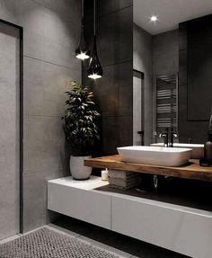 ♻️ Дизайн стиле ЛОФТ / Design Loft ▫️ Design Bedroom by Bathroom Design Luxury, Bathroom Layout, Modern Bathroom Design, Simple Bathroom, Home Interior Design, Design Bedroom, Bathroom Ideas, Serene Bathroom, Loft Bathroom